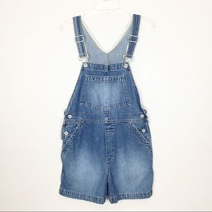 Gap Jean Short Overalls Size Small